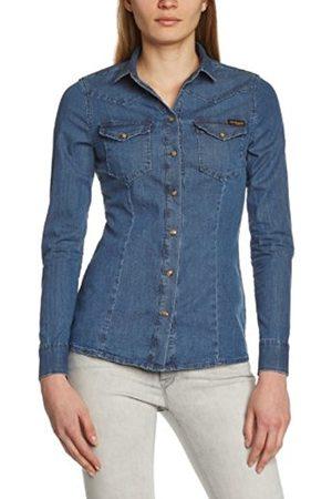 Women Long sleeves - True Religion Women's Danielle Slim Fit Long Sleeve Shirt