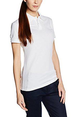 Women Polo Shirts - Trigema Women's Damen Polo-shirt Elast. Piqué Polo Shirt - white - 48