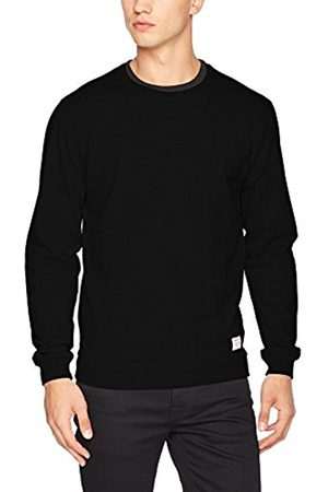Men Sweatshirts - Solid Men's Sweat - Garon Regular Fit Crew Neck Long Sleeve Sweatshirt - - X-Large