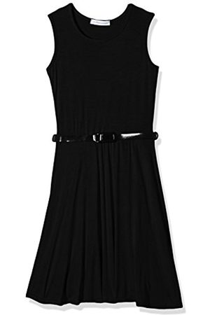 Girls Dresses - Girl's Plain Skater Dress