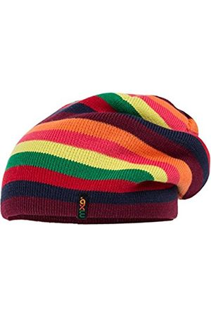 Girls Hats - maximo Girl's 63578-195000 Hat, Multicoloured-Mehrfarbig (Teaberry/Bordeaux 3945)
