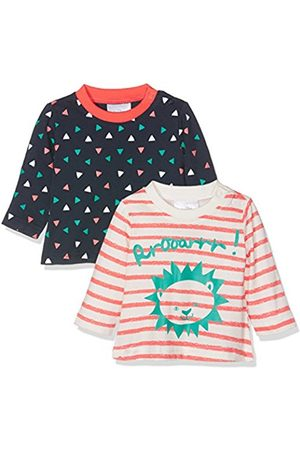 Long Sleeve - Twins Baby Girls Jule Long Sleeve Top, Multicoloured (Mehrfarbig)
