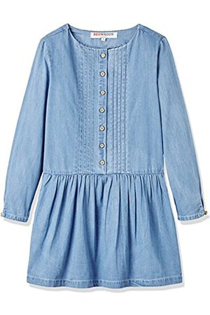 Girls Dresses - Girl's Chambray Dress