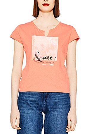 Women T-shirts - Esprit Women's 057cc1k001 T-Shirt. Orange / Red
