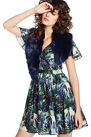Women Scarves - Boohoo Women's Faux Fur Shawl