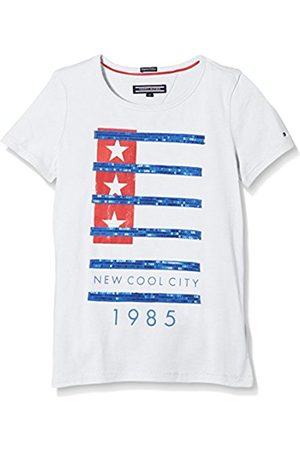 Girls Short Sleeve - Tommy Hilfiger Girl's Shannon Cn Knit Short Sleeve Striped T-Shirt