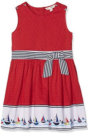 Girls Printed Dresses - Yumi Girl's Boat Border Print Hem Dress