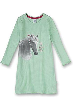 Girls Long Sleeve - Sanetta Girl's Striped Long Sleeve Nightie - - 18-24 months
