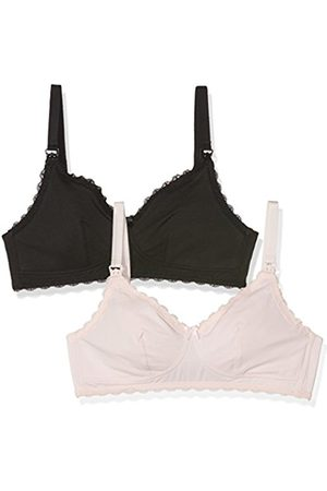 Women Bras & Bustiers - New Look Women's Lace Trim Everyday Bra