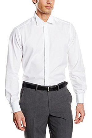 Men Long sleeves - Men's Slim Fit Long Sleeve Dress Shirt - - 42 cm