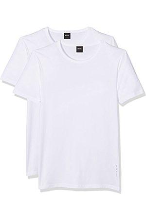 Men Short Sleeve - HUGO BOSS Men's T-Shirt RN 2P CO/EL T-Shirt