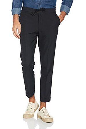 Men Trousers - New Look Men's Pinstripe Pv Jogger Trousers