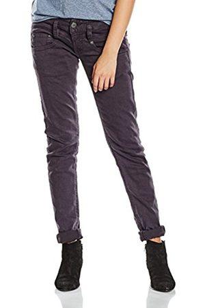 Women Slim & Skinny Trousers - Herrlicher Women's Pitch Slim Trousers, -Schwarz ( 11)