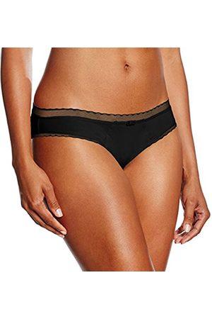 Women Slips & Underskirts - Women's Slip Microfibra Leggera My Daily Comfort Underpants, (004-Nero )