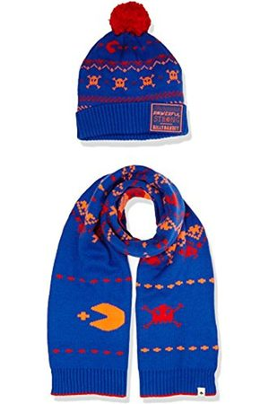Boys Scarves - BILLYBANDIT Boy's V28021 Pull on Scarf, Hat Set