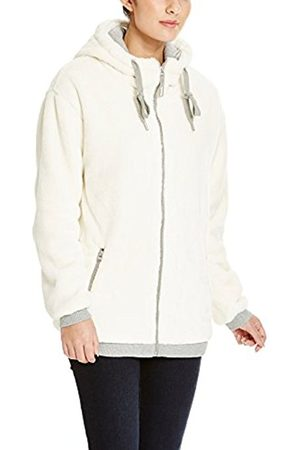 Women Cardigans - Bench Women's Baritone Cardigan, Off- -Elfenbein (Cream CR018)
