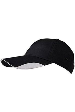Men Hats - James & Nicholson 6 Panel Polyamid Baseball Cap