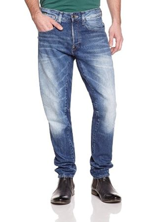 Men Tapered - G-Star Men's A-Crotch Tapered Jeans, Blau (Medium Aged 5203)