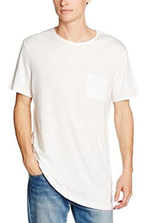 Men T-shirts - New Look Men's Longline Slub T-Shirt