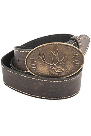 Belts - Werner Trachten Unisex 03868 Belt - brown - 95 cm