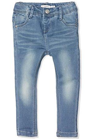 Girls Slim & Skinny Trousers - Name it Girl's NITTRINE SKINNY DNM PANT NMT NOOS Jeans
