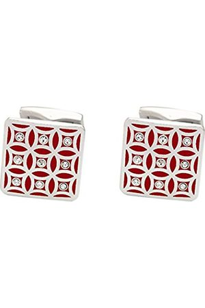Cufflinks - Repeating Pink Pattern Crystals Cufflink