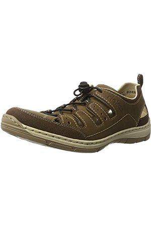 Men Trainers - Rieker Men's 15256 Low-Top Sneakers