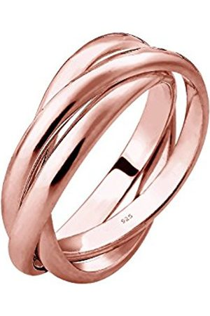 Women Rings - Women Plated 925 Sterling Silver Wrap Ring - Size M 0601480317_52