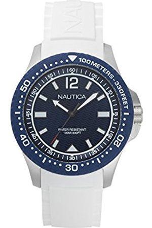 Nautica Men's Analogue Quartz Watch with Silicone Strap NAPMAU004