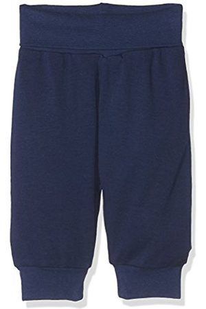 Trousers - Schnizler Unisex Baby Babyhose, Pumphose mit elastischem Bauchumschlag, Oeko-Tex Standard 100 Tracksuit Bottoms, (Marine)