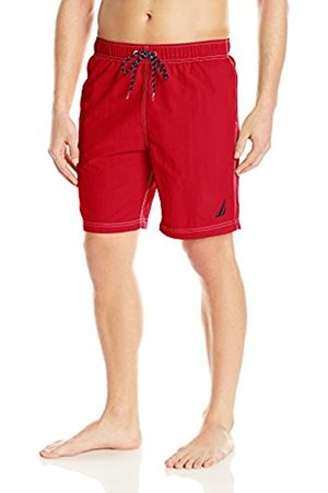 Nautica Men's Anchor Full Elastic Solid Trunk Swimsuit
