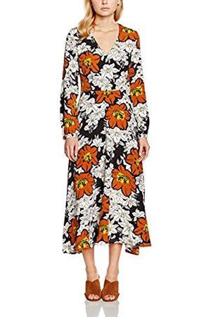 Women Printed Dresses - Mela Women's Large Flower Print Dress