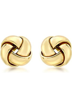 Earrings - Carissima Gold 18ct Gold Knot Stud Earrings