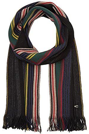 Men Scarves - Camel Active Men's 4V31 Scarf, Multicoloured-Mehrfarbig ( /Anthra/ 35)