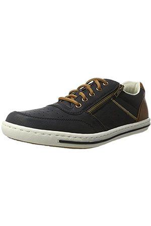 Men Trainers - Rieker Men's 19005 Low-Top Sneakers
