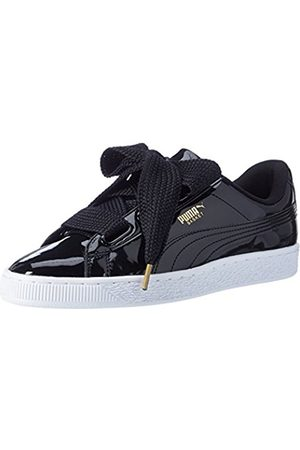 Puma Women Basket Heart Patent Low-Top Sneakers, ( - )