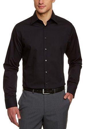 Men Long sleeves - Blacke Rose Men's Classic Long Sleeve Tailored Shirt - - - 14.5 inches (Brand size: 39 CM)