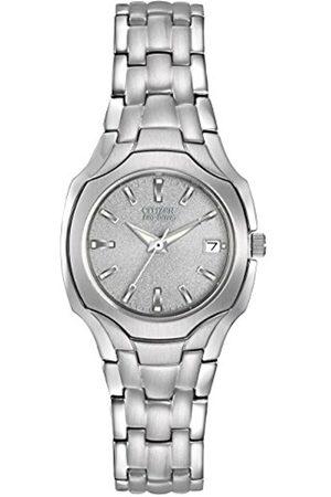 1-100 Women's Eco-Drive Stainless Steel Watch #EW1250-54A