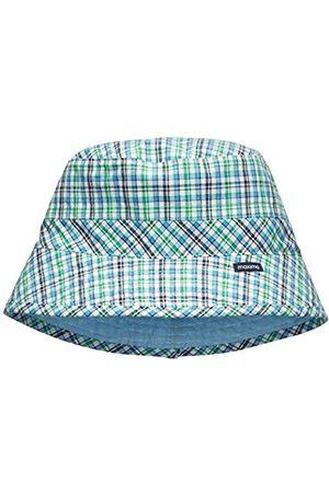 Boys Hats - maximo Boy's Wendehut, Kariert, Einfarbig Hat