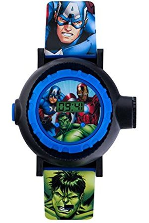 Boys Watches - Avengers Children's Digital Watch with Dial Digital Display and PU Strap AVG3536