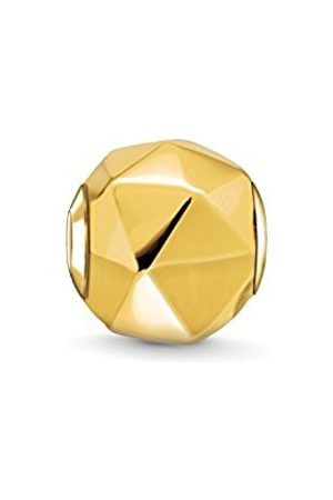 Thomas Sabo Women Men-Bead Triangle Karma Beads 925 Sterling Silver 18k yellow plating K0227-413-12