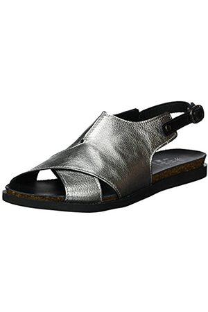 Emma Cook Women's Vanda Open Toe Sandals silver Size: 5 UK
