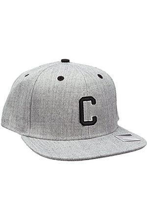 Men Hats - MSTRDS Letter Snapback C Baseball Cap, -Grau (C 1180,4618)