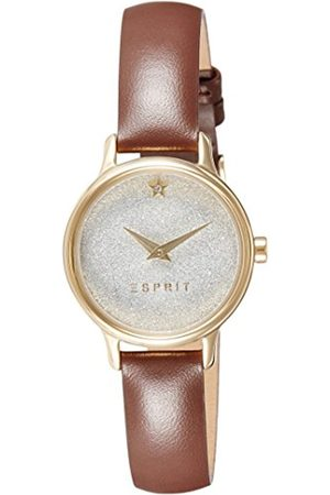 Women Watches - Esprit TP10928 Women's Quartz Watch with White Dial Analogue Display and Leather Strap ES109282002