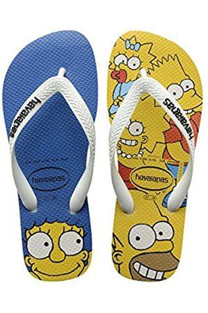 Boys Flip Flops - Havaianas Kids Flip Flops Simpsons - Size 12 - Children's Flip Flops