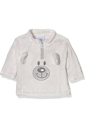 "Jumpers & Sweaters - Twins Unisex Baby Half Zip Sweater ""Teddy Bear"", (grau)"