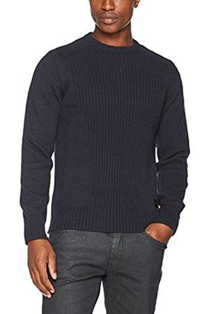 CAPUCCI Men's Plmilford4 Crew Neck Sweater Long Sleeve Jumper