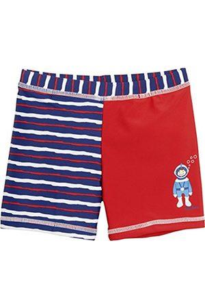 Boys Swim Shorts - Playshoes Boy's Taucher mit UV-Schutz Swim Shorts, (rot)