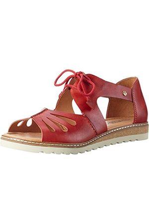 Pikolinos Women's's Alcudia W1l Wedge Heels Sandals (Coral) 3 UK