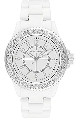 Jean Bellecour Womens Analogue Classic Quartz Watch with Stainless Steel Strap REDH48